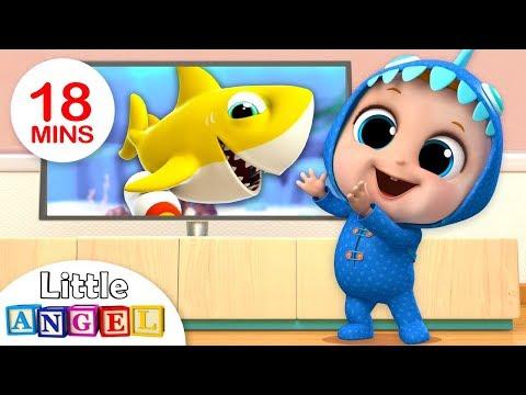 Xxx Mp4 Baby Shark Dance Baby Shark Song Nursery Rhymes Amp Kids Songs By Little Angel 3gp Sex