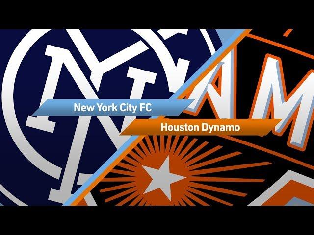 Highlights: New York City FC vs. Houston Dynamo   September 23, 2017