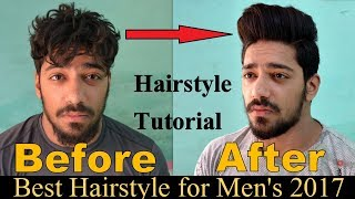 Best Trending Hairstyle for Men's 2017 | ADD VOLUME TO YOUR HAIR | Disconnected Undercut