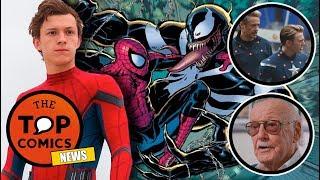 Spider-Man en Venom, Avengers 4 ¿Será sobre viajes en el tiempo?, Stan Lee acusado