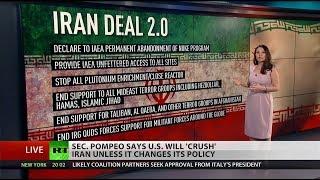 Pompeo: US will 'crush' Iran if necessary