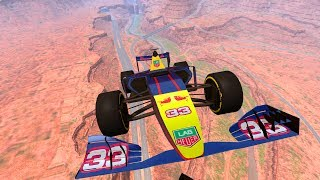 High Speed Jumps Crashes #3 - BeamNG DRIVE