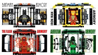 Iron Man Batman CW's Arrow & The Flash Armory Tech Gear Capsule Unofficial LEGO KnockOff Set 2