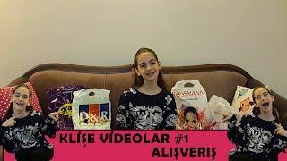 Klişe Videolar #1 Alışveriş!!! D&R, Rossmann, H&M...