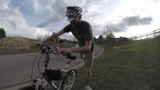 LEED Electric Bike Kit Hill Climb Test