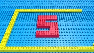 Lego Numbers formation and fun | Learn counting 1 To 10 | Kids fun and learn | Kiddiestv