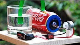 How To Make An Air Pump   -  Aquarium Air Pump   2017  # home made