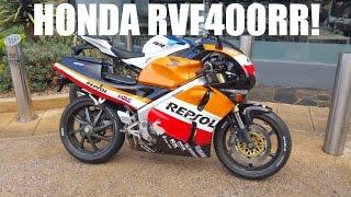 Honda RVF400RR Test Ride! Awesome Little V4!