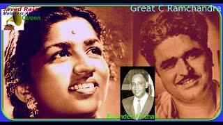 LATA JI & Chitalkar~Film-USTAD PEDRO~1951-Teray Dil Pe Jadoo Kar Gaya~[ Rarest Gem-First Time