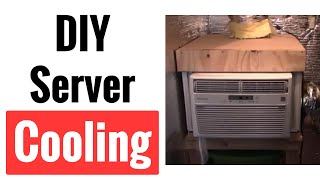 DIY Server Closet Air Conditioner