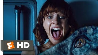 Jurassic World (7/10) Movie CLIP - The Raptors are Coming (2015) HD