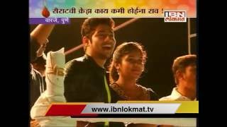 Pune : Sairat actors Archie And Parshya celebrating dahi handi