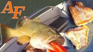 Catch n Cook Coral Trout with Butter Salt and Pepper Delicious EP.364