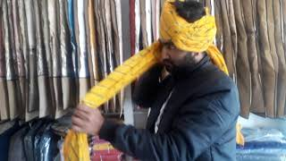राजपूती साफा बांधना कैसे सीखें । rajputi safa Bandhana kese sikhe