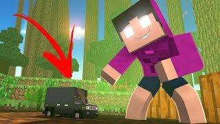 VOU JOGAR A MALENA NO BURACO, COM ISSO - Minecraft Reverso ❌