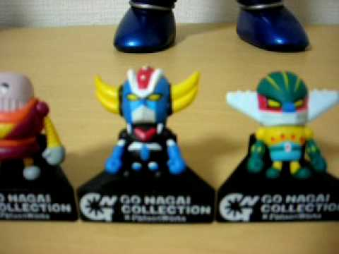 GO NAGAI collection X panson work gashapon (italian)