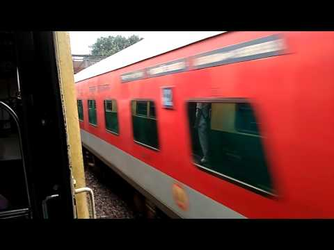 ECR KING PATNA RAJDHANI WITH A SURPRISE