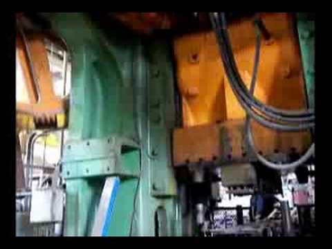 4 000 Ton Bliss Knuckle Joint Metal Stamping Press For Sale