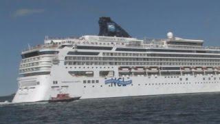 Norwegian Dawn Cruise Ship Runs Aground Off Coast of Bermuda