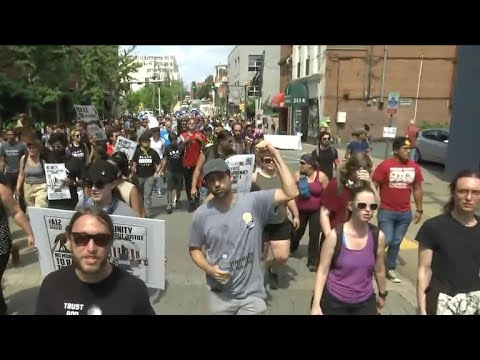 Xxx Mp4 Counter Protesters Outnumber White Nationalists At Washington D C Rally 3gp Sex