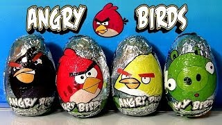 Angry Birds Easter Eggs Chocolate SURPRISE Bad Piggies Huevos Sorpresa by Funtoys