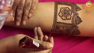 Learn Bridal Mehndi Design With Easy Pattern