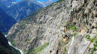 The Killar - Kishtwar Road in Kashmir