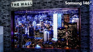 """The Wall by Samsung - 146"""" MicroLED Modular Display - No Limits"""