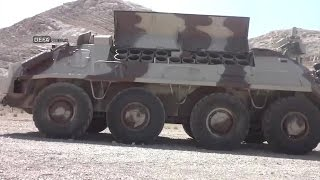 Iran made 8x8 minelayer Vehicle dubbed Heidar 5 based on BTR-60PB خودرو مين گذار حيدر پنج ايران