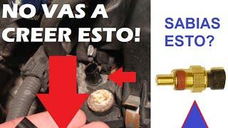 Lo que no sabes sobre el sensor ECT de tu carro PELIGROSO!!!