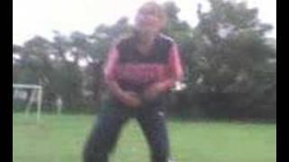 Alisha's new dance moves lol!