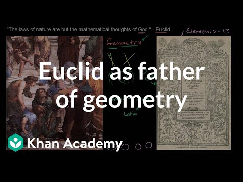 Xxx Mp4 Euclid As The Father Of Geometry Introduction To Euclidean Geometry Geometry Khan Academy 3gp Sex