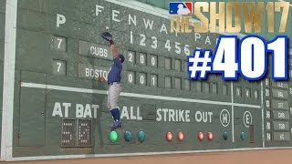 ROBBING ONE UP AGAINST THE MONSTER! | MLB The Show 17 | Road to the Show #401