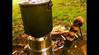 Budget Wood Gas Stove