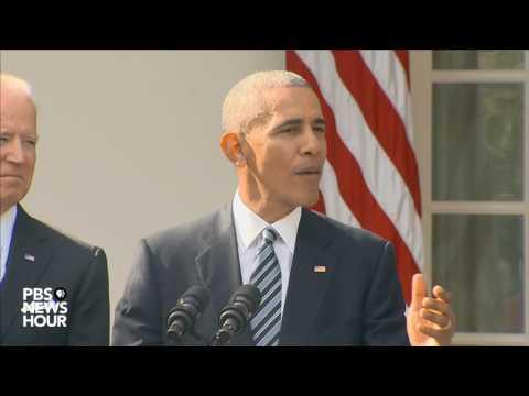 watch Watch President Obama speak on Trump presidential victory
