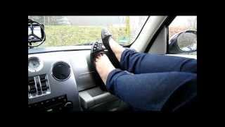 Black Flats Barefoot Part 2