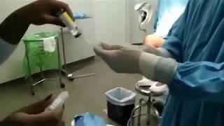 Parto Normal Preparación de pabellón y parto