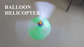 How To Make a  Helicopter - BALLOON HELICOPTER - BALLOON SHOW - Kids Ply Balloon Helicopter