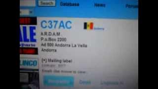 C37AC- Radio Andorra A.R.D.A.M - ANDORRA - 19:15 utc - 08-Sep-2013 - 40 meters band