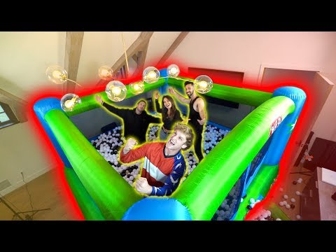 MASSIVE BALL PIT BOUNCE HOUSE IN MY BED ROOM