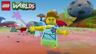 LEGO Worlds Fairy Character Unlock Now Available in Fungus Forest