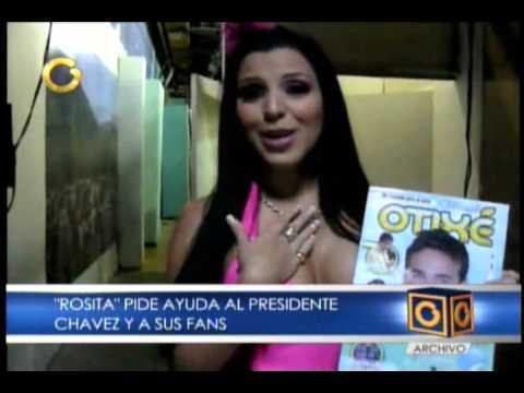 Rosita Jimena Araya pide ayuda a Chavez y sus Fans por la evasion del Pran Guerrero