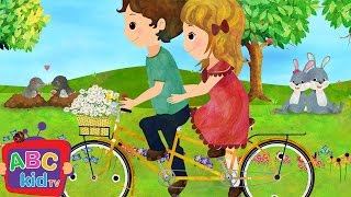 Daisy Bell / Bicycle Built for Two | Nursery Rhymes - ABCkidTV