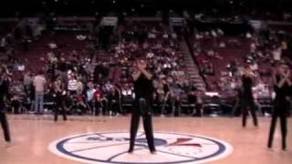 DeStolfo's Demo Team Performance, Sixers Game, Halftime  3-4-2011