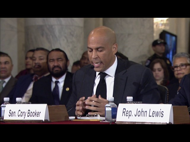 Sen. Cory Booker Testifies Against Sen. Jeff Sessions