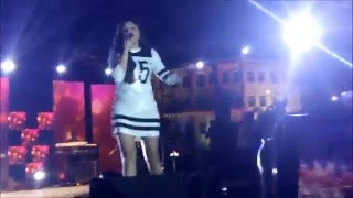 Kanika Kapoor Live concert TKR College Hyderabad Shiznay 2k16