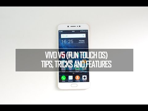 Vivo V5 (Fun Touch OS) Tips, Tricks and Features