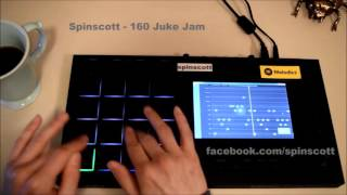 Finger Drumming DnB/Jungle On A MPC Touch// Spinscott