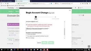 2018 How to Transfer Domain from Godaddy account to another godaddy account