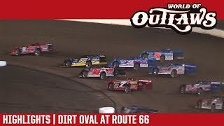 World of Outlaws Craftsman Late Models Dirt Oval at Route 66 October 13, 2017 | HIGHLIGHTS
